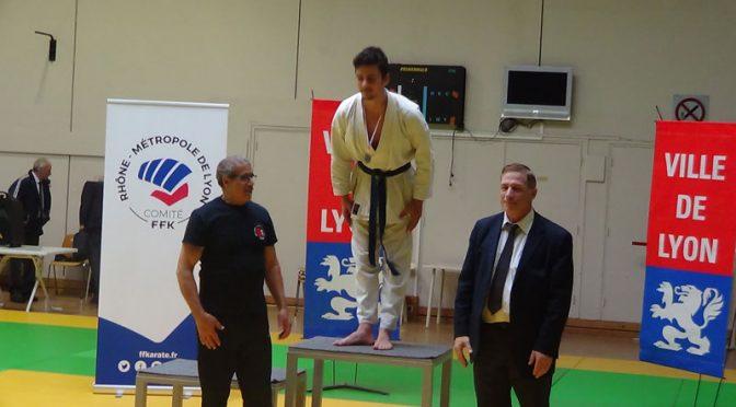 champion départemental métropole lyon combat